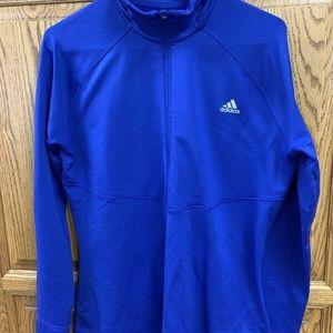 Ladies Adidas Half Zip Top (Climawarm) size XL Roy